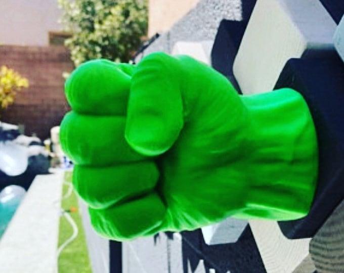 Featured listing image: Hulk Towel Holder - Hulk Smash Gift - Bathroom Towel Rack - Hulk Room Decor - Bathroom Towel Hook - Avengers Bathroom Decor - Nerd Decor