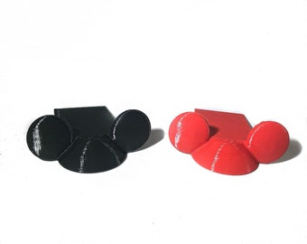 Mouse Ears Door Wedge - Door Stopper - Decorative Door Holder - Stocking Stuffer- White Elephant - Housewarming Gift - Mouse Wedge -