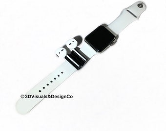 Apple AirPod Holder - Apple AirPods Watch - Apple Watch Band - 42mm Watch Band - Women Apple Watch Band - AirPod Holder - Best Seller