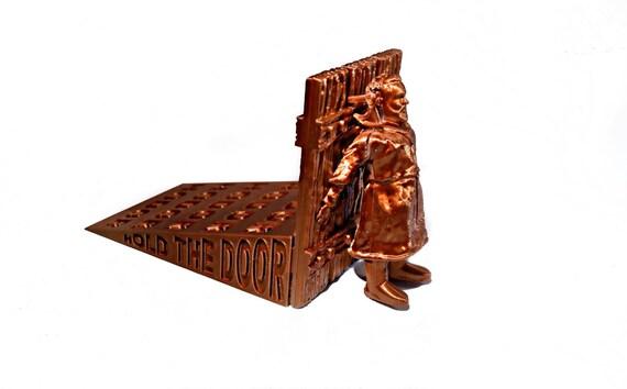 Cale Porte Hodor hodor tenir le porte butée de porte en bronze plancher | etsy
