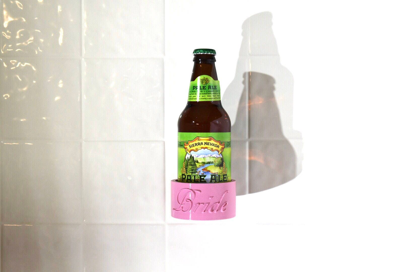 Just Married Beer Caddy - Shower Beer Holder - Groomsman Gift ...