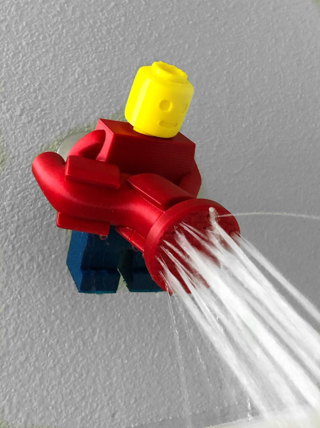 Lego Shower Head 3d Printed Lego Man Decor Lego