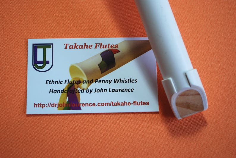 Kea, Handcrafted PVC Low-F Penny Whistle, by Takahe Flutes, FREE SHIPPING!