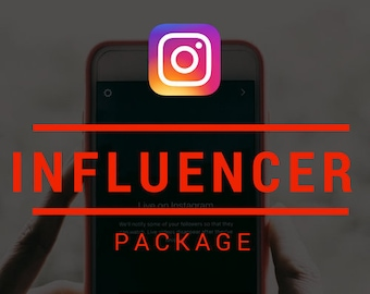 Social Media Influencer Package