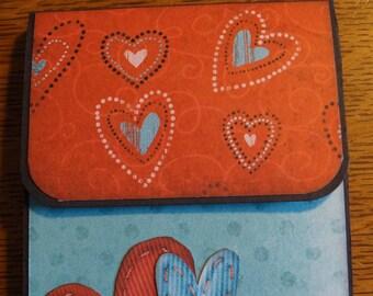 Valentine Themed File Folder Mini Album