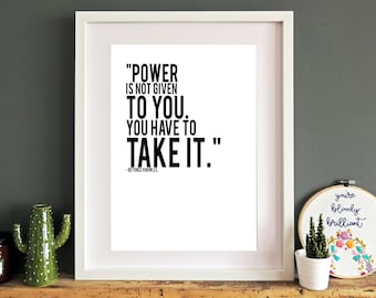Quotes Aan Muur : Beyonce quotes etsy