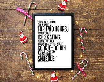 Buddy The Elf Christmas Quote Wall Print