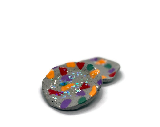 Muddy Tiles — Jewelry Dish