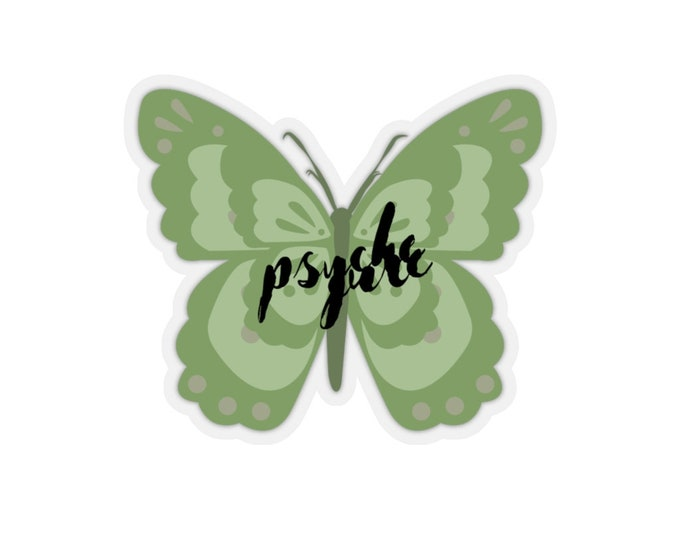 Butterfly Psyche Sticker