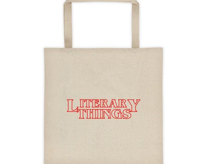 Literary Things -- Book Bag