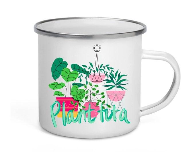 Plantita — Enamel Mug