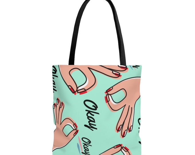 Everything Is Gonna Be Okay -- Reusable Tote