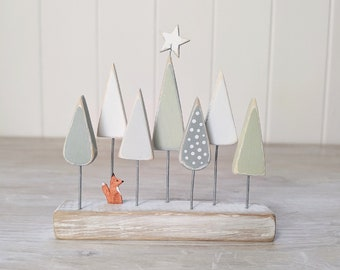 Fox in the Trees, Nature Inspired wooden Decoration