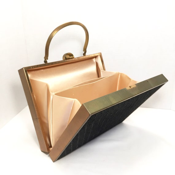 Mid Century Modern Handbag, Vintage Box Purse, Retro Clutch, Mad Men Purse, Mod Purse, Christmas Gift For Her by Etsy
