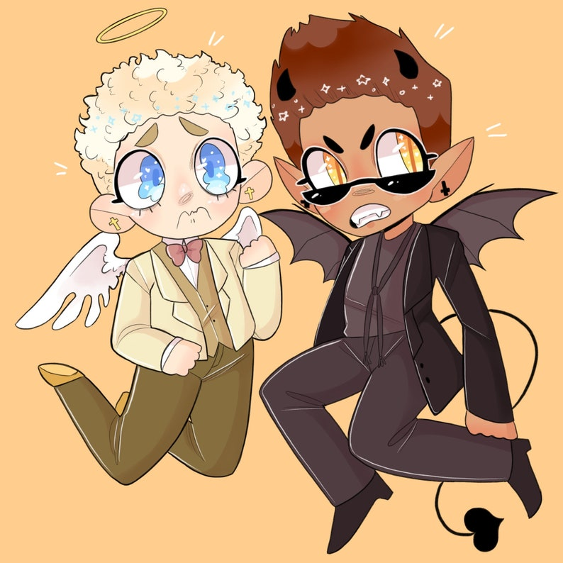 Ineffable Husbands Stickers