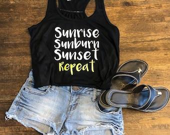 a271c56e8a1754 Summer Tank Top - Sunrise