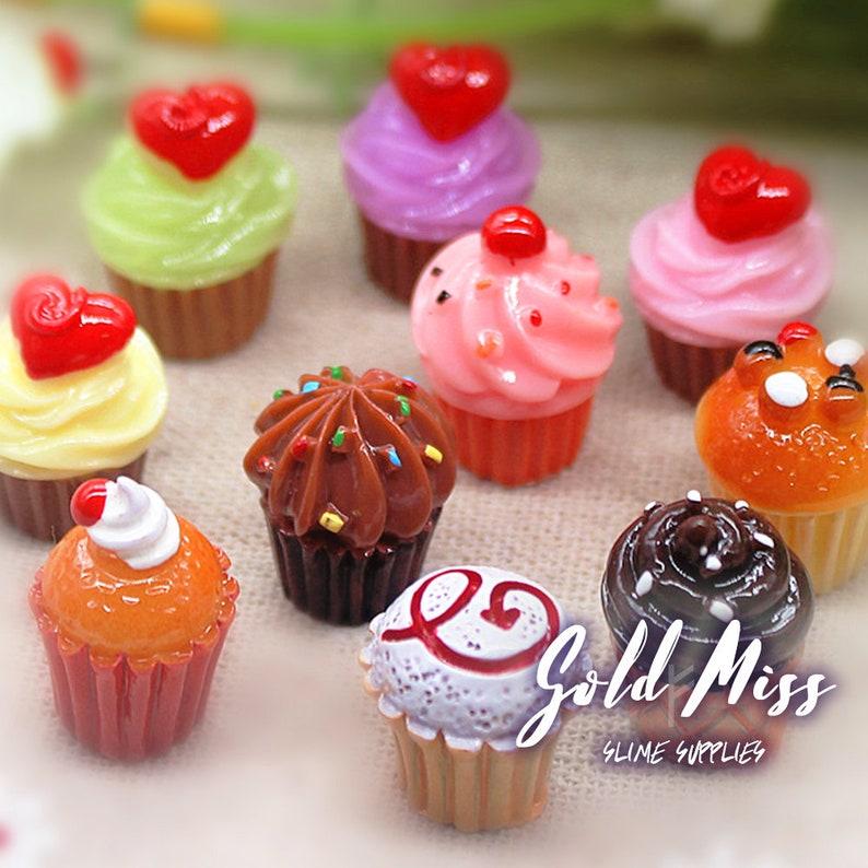 Cupcake Charms Mini Cupcakes Dollhouse Birthday