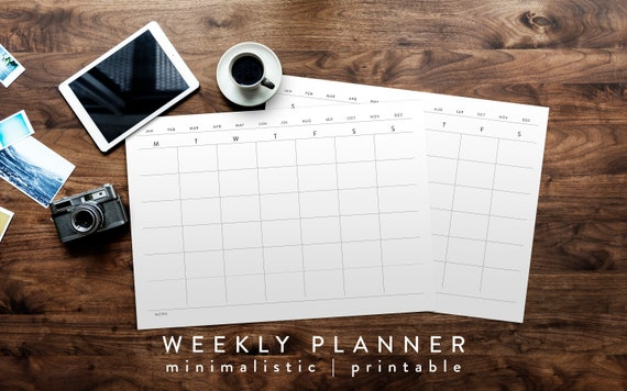 photograph about Day Designer Planners identified as Working day Designer, Calender Planner, Basic Planner, Planners Agendas, Routine Planner, Visible Timetable, Weekly Agenda, Printable, Perpetual