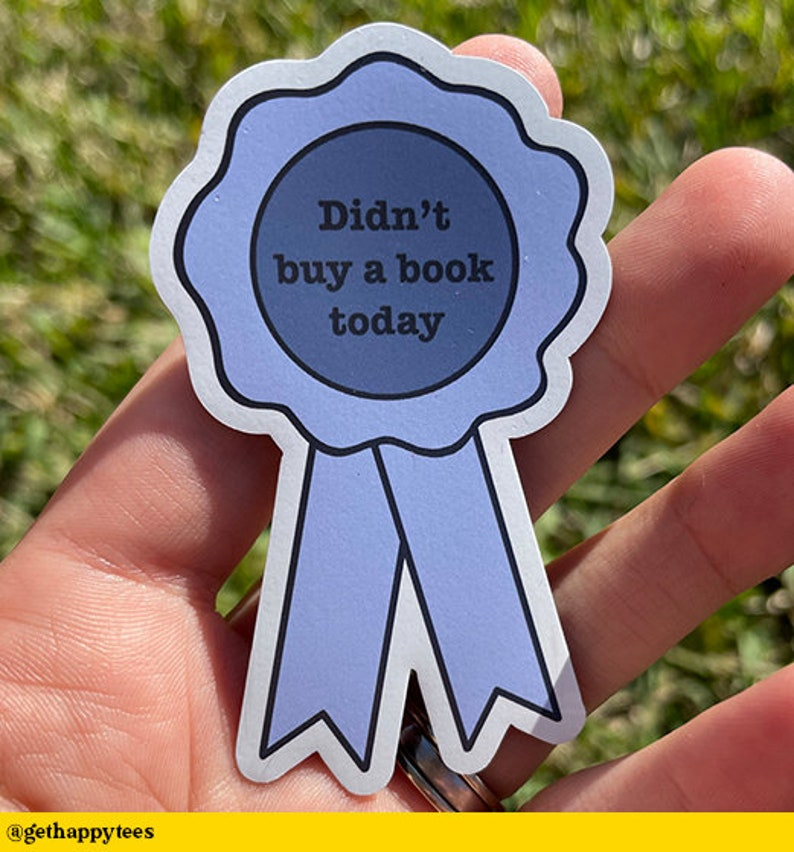 Bookish Problems Didn/'t Buy A Book Today Magnet