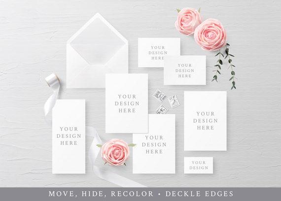 Wedding Suite Mockup Wedding Set Mockup Wedding Stationery Etsy