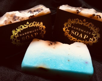 Ocean Waves - Melt and Pour handmade soap