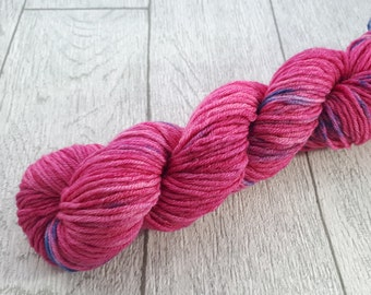 Dragonfruit - DK Double Knit light worsted Wool Alpaca 50g