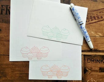 Tea Party Letter/Writing/Stationary Set