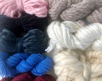 Rustic | Limited Availability | Fiber Pack | Yarn Pack | Roving | Loom Art Kit | Learn to Weave | Child Activity | Weaving Beginner