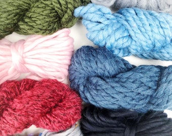 Forest | Limited Availability | Fiber Pack | Yarn Pack | Roving | Loom Art Kit | Learn to Weave | Child Activity | Weaving Beginners