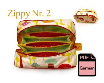 E-BOOK ZIPPY NR. 2 Nähanleitung und Schnittmuster
