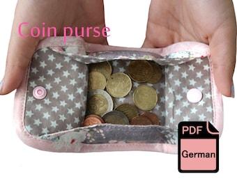 Münzbörse Mini Geldbörse Portemonnaie eBook