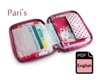 eBook Purse Pari's - Sewing Tutorial and Cut Patterns