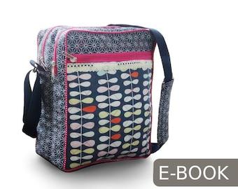 DONNA die Messenger Tasche EBOOK &  Nähanleitung