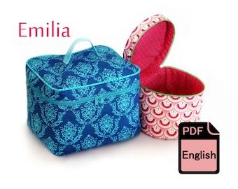 eBook Cosmetic Bag Emilia - Sewing Tutorial and Cut Patterns