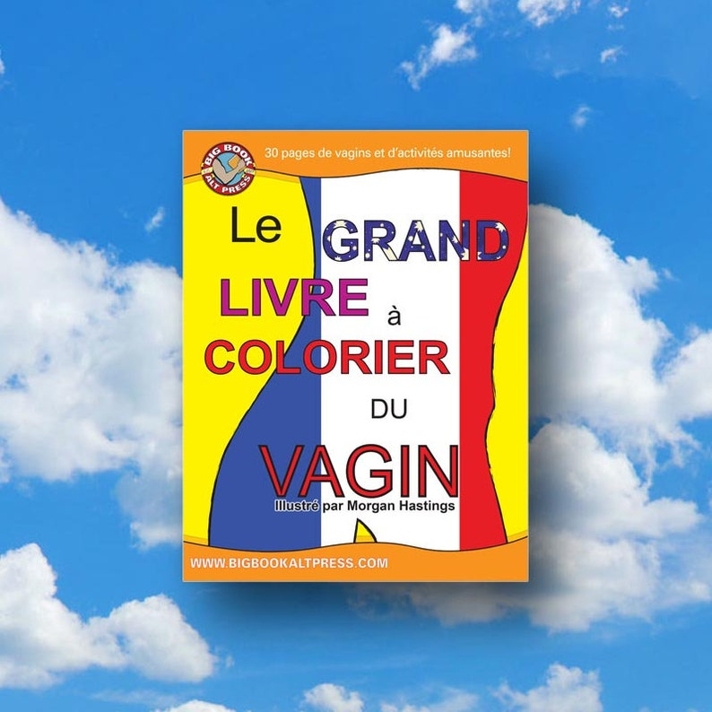 Le Grand Livre à Colorier du Vagin image 0