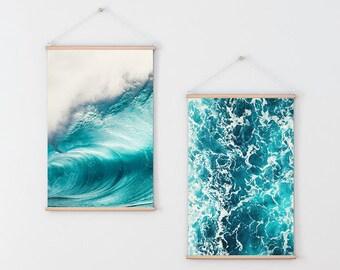 Modern Art Prints, Blue Wall Art, Ocean Photography Prints, Ocean Prints, Abstract Art Prints, Ocean Art, Print Set, Blue Wall Decor