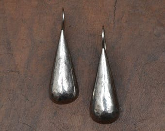 Sterling silver 925 oxidized earrings drops