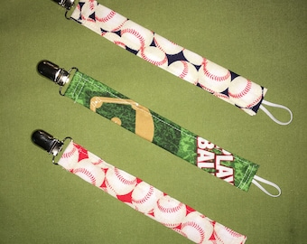 Set of 3 Pacifier Clips