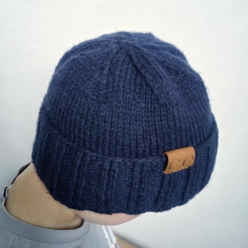 7baa6ebb784 PATTERN Knit Beanie Mens Knit Hats Patterns Knit Mens