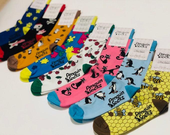 8 pairs socks pack - Funny socks for women