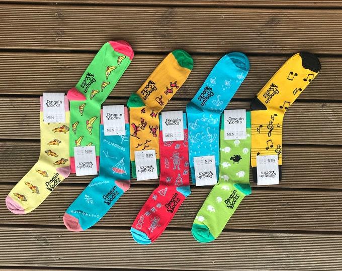 Week socks pack - 7 Funny socks for Men