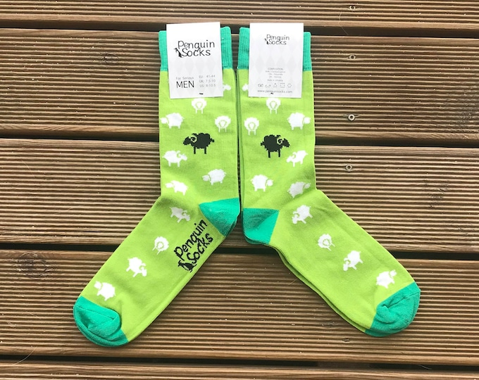 Sheep socks - Funny socks for men