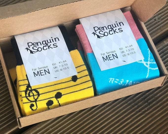 Unique Men Socks Box - Funny Socks for Men