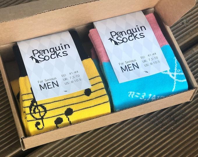 Unique Men Socks Box - Funny Socks for Men