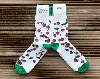 Sweet cherry socks - Cute socks for Women