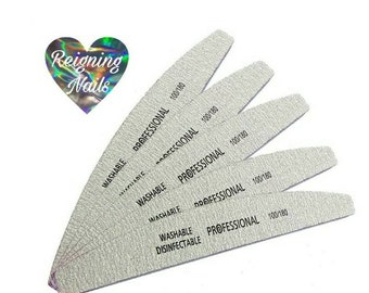 Nail Files| High Quality Professional Gray Files| 100/ 180