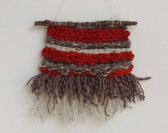 AUTUMN /Wall Hanging / Weaving / Wall Art