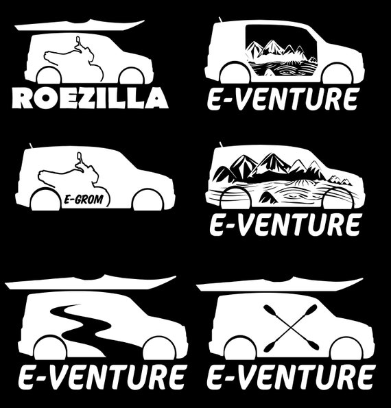Honda Element Vinyl Stickers Etsy