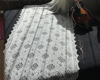 The authentic Haapsalu Shawl - Medium