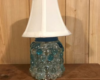 Embellished Battery Operated Lamp